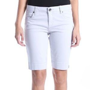 """🌺Kut from the Kloth White Bermuda Shorts 10"""" 8"""